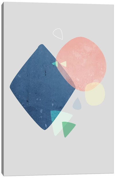 Graphic CLXXIV Canvas Art Print