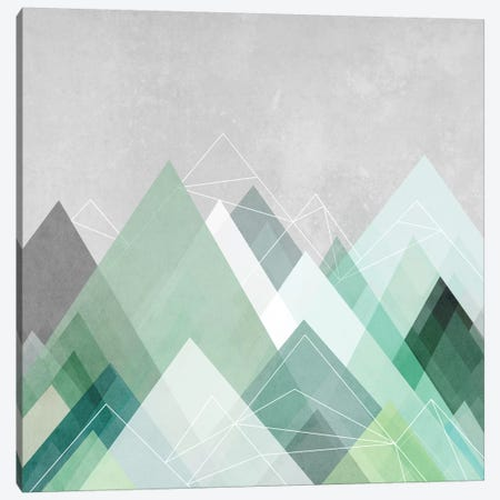 Graphic CVII Canvas Print #BOH32} by Mareike Böhmer Canvas Artwork