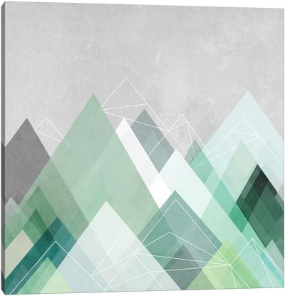 Graphic CVII Canvas Art Print