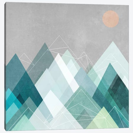 Graphic CVII.X Canvas Print #BOH33} by Mareike Böhmer Canvas Artwork