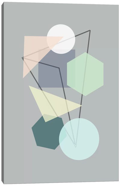 Graphic CXIII Canvas Art Print
