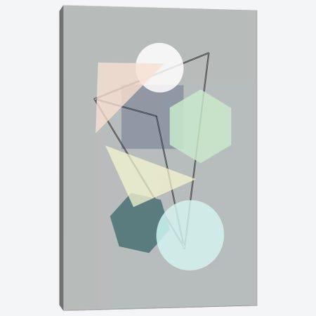 Graphic CXIII Canvas Print #BOH37} by Mareike Böhmer Canvas Print