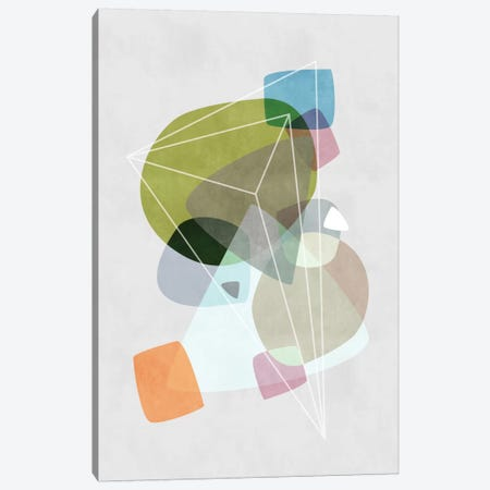 Graphic CXIX Canvas Print #BOH39} by Mareike Böhmer Canvas Artwork