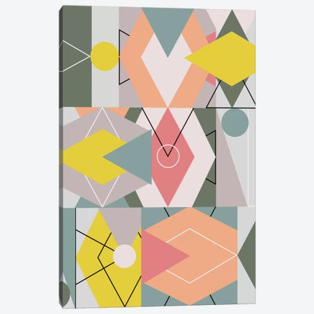 Graphic CXLV Canvas Print #BOH40} by Mareike Böhmer Canvas Print