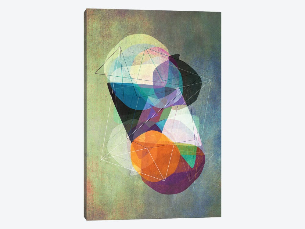 Graphic CXVII.Z by Mareike Böhmer 1-piece Canvas Art