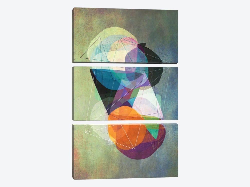 Graphic CXVII.Z by Mareike Böhmer 3-piece Canvas Artwork