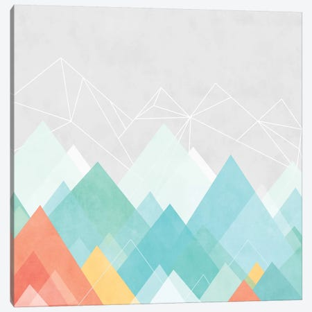 Graphic CXX Canvas Print #BOH44} by Mareike Böhmer Canvas Artwork