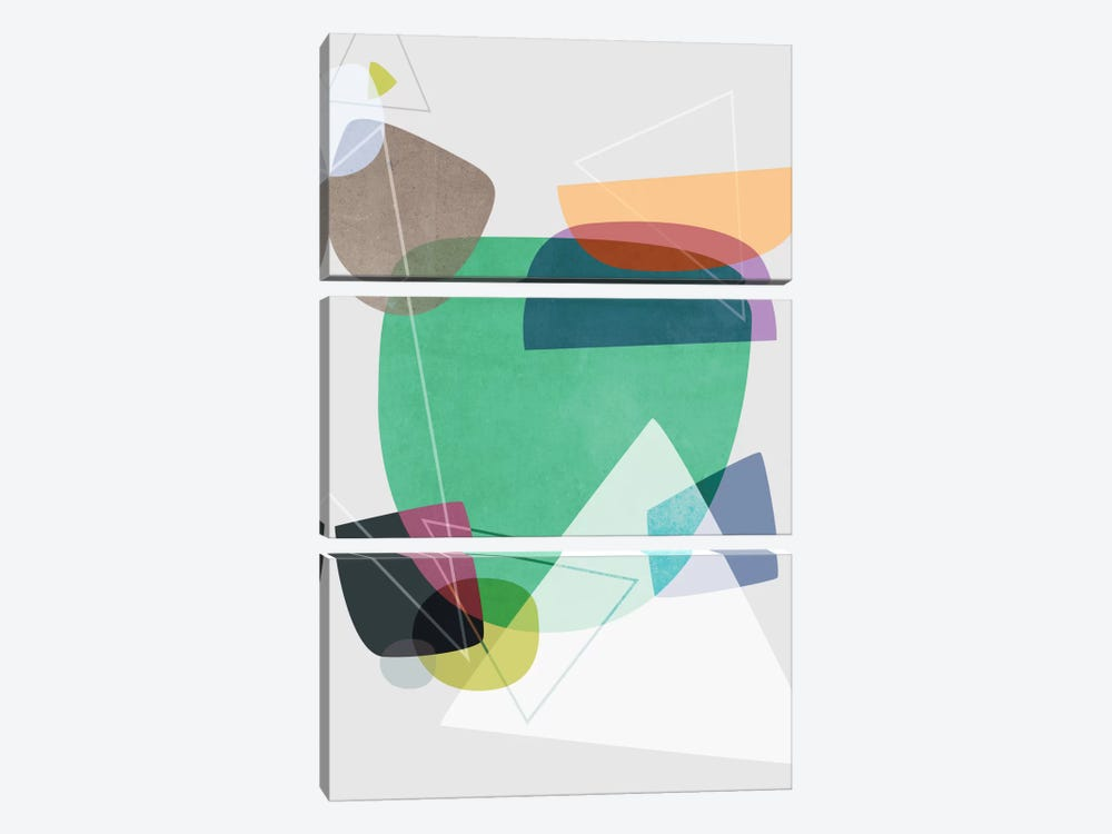 Graphic CXXII by Mareike Böhmer 3-piece Art Print