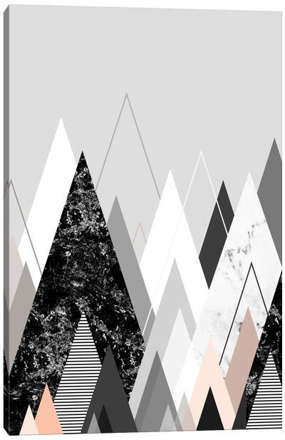 Graphic CXXIV Canvas Art Print