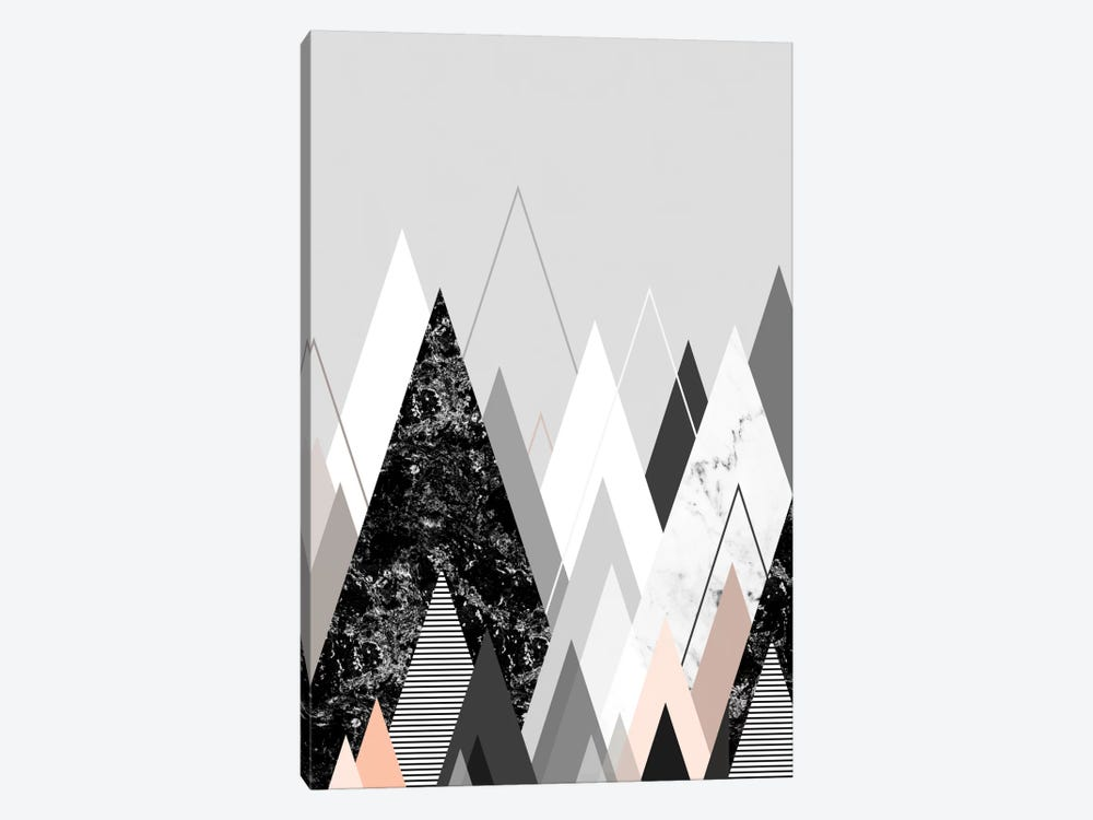 Graphic CXXIV by Mareike Böhmer 1-piece Canvas Print