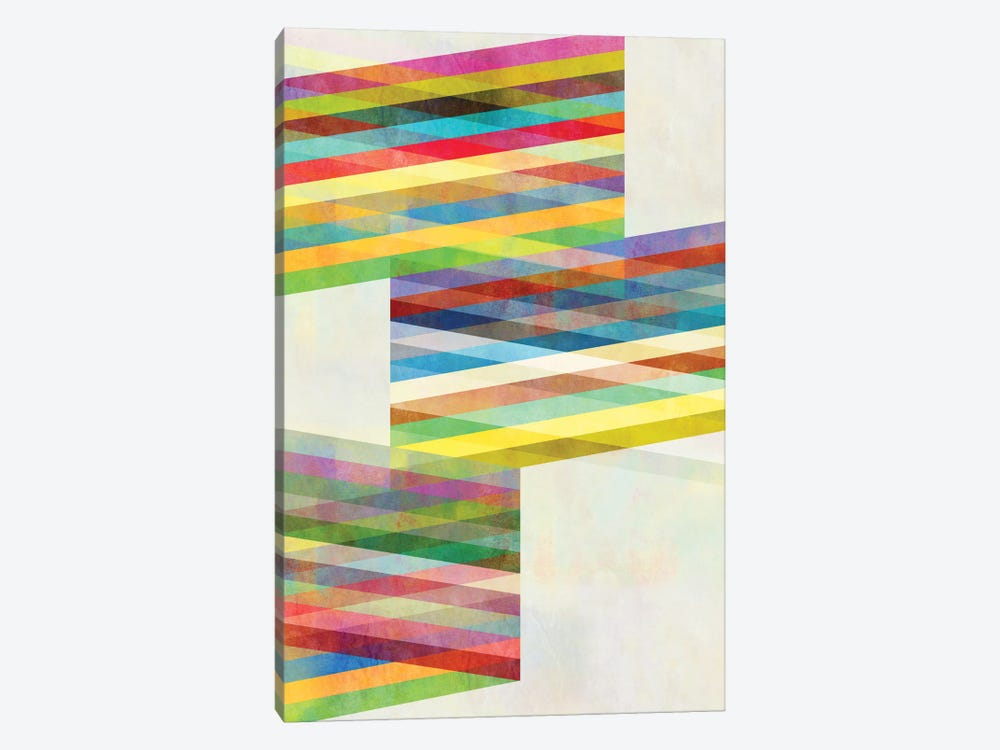 Graphic IX.X by Mareike Böhmer 1-piece Canvas Wall Art
