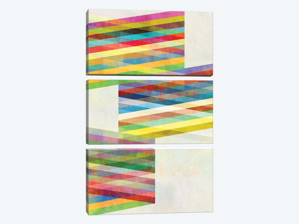 Graphic IX.X by Mareike Böhmer 3-piece Canvas Artwork