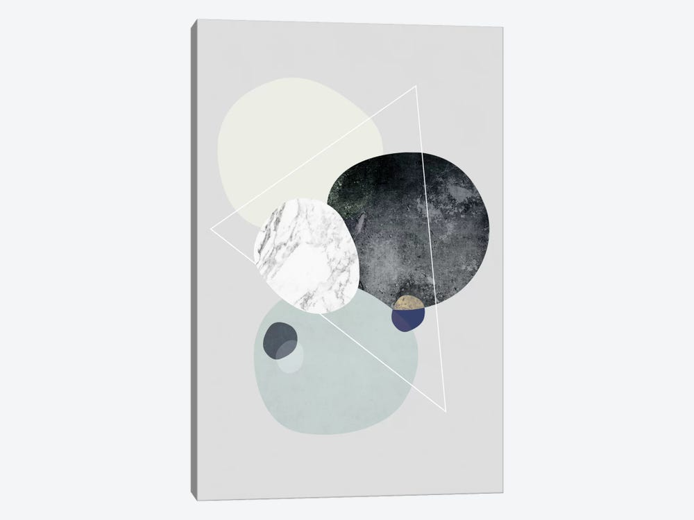 Graphic LXXXIX by Mareike Böhmer 1-piece Canvas Art Print