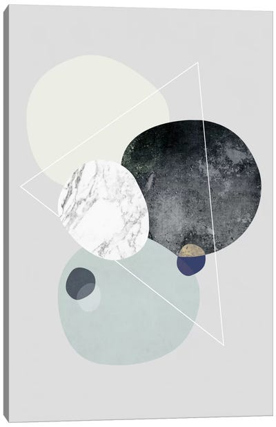 Graphic LXXXIX Canvas Art Print