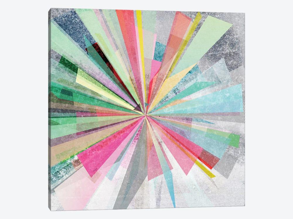 Graphic X by Mareike Böhmer 1-piece Canvas Wall Art