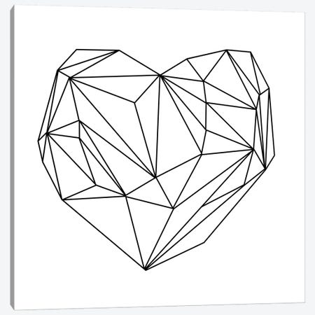 Heart Graphic I Canvas Print #BOH56} by Mareike Böhmer Art Print