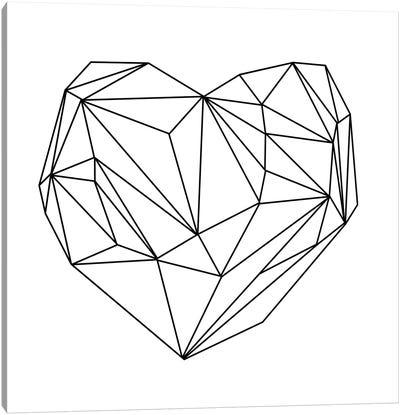 Heart Graphic I Canvas Art Print