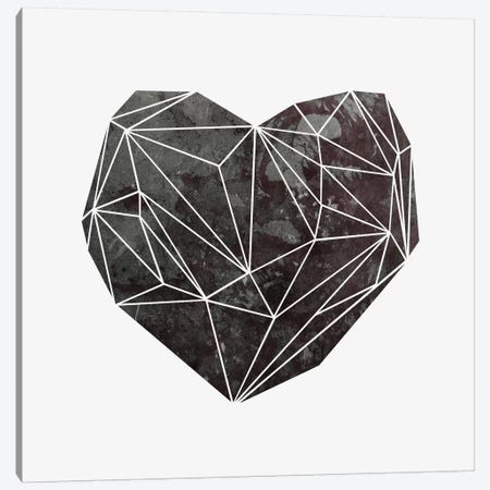 Heart Graphic IV Canvas Print #BOH57} by Mareike Böhmer Canvas Print