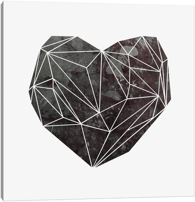 Heart Graphic IV Canvas Art Print