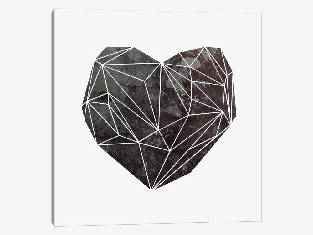 Heart Graphic IV by Mareike Böhmer 1-piece Canvas Wall Art