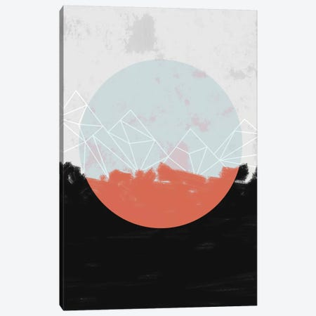 Landscape Abstract Canvas Print #BOH59} by Mareike Böhmer Canvas Wall Art