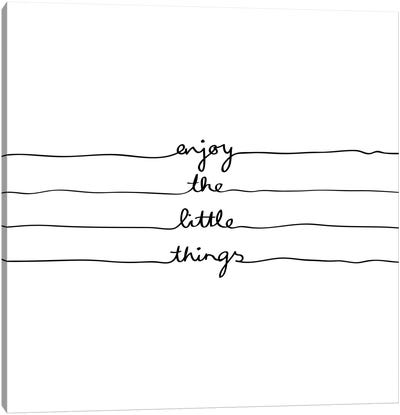 Little Things Canvas Art Print