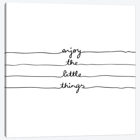 Little Things Canvas Print #BOH62} by Mareike Böhmer Canvas Print