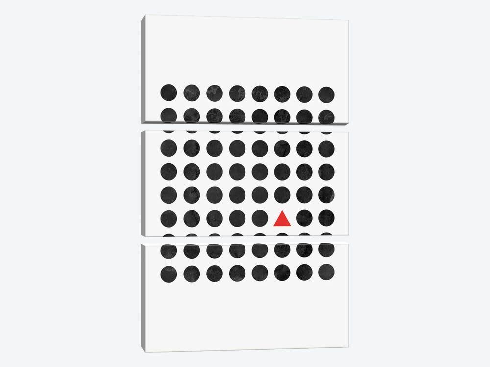 Minimalism II by Mareike Böhmer 3-piece Canvas Artwork