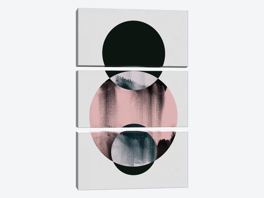 Minimalism XIV by Mareike Böhmer 3-piece Art Print
