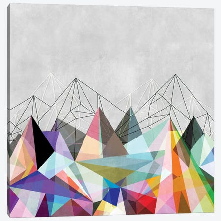 Colorflash III Canvas Print #BOH6} by Mareike Böhmer Canvas Artwork