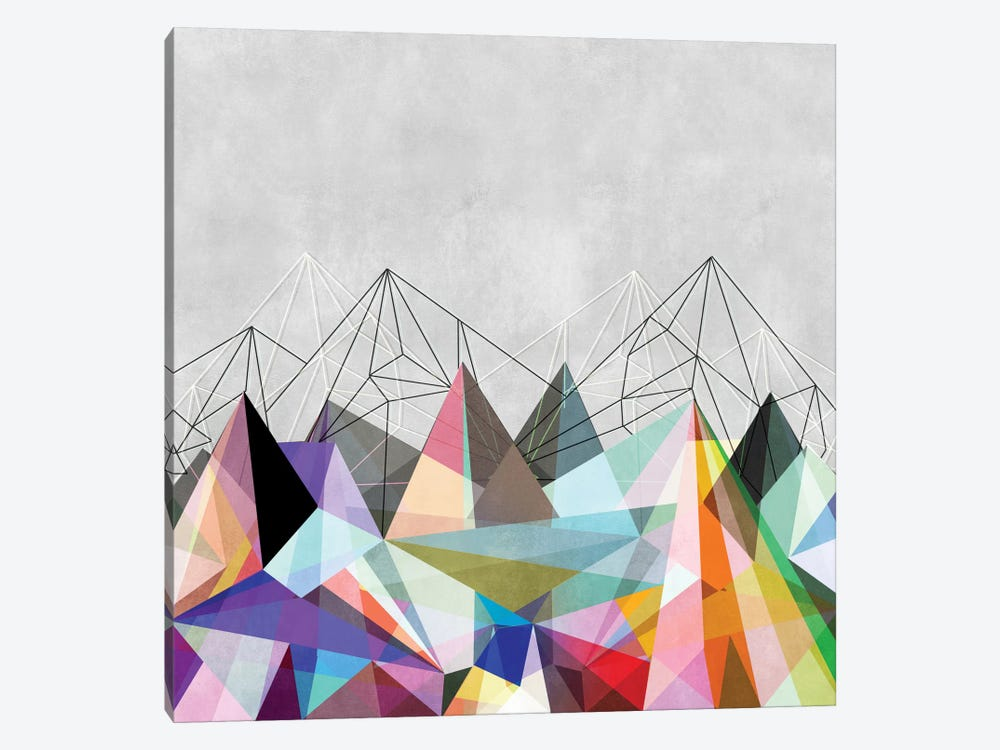 Colorflash III by Mareike Böhmer 1-piece Canvas Art Print