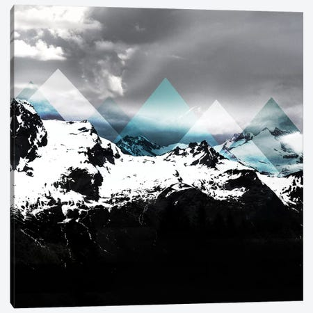 Mountains IV Canvas Print #BOH70} by Mareike Böhmer Canvas Artwork