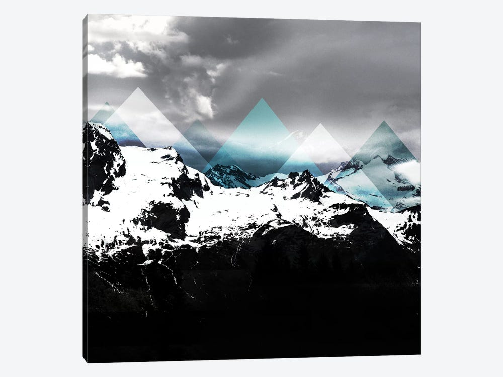 Mountains IV by Mareike Böhmer 1-piece Canvas Art Print