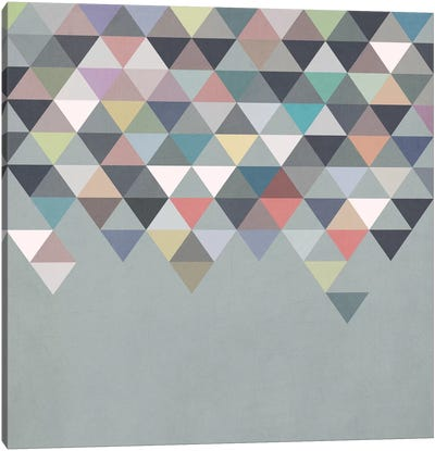 Nordic Combination XX Canvas Art Print