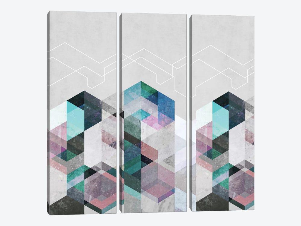 Nordic Combination XXIII by Mareike Böhmer 3-piece Canvas Wall Art