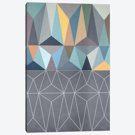 Nordic Combination XXXI Canvas Print #BOH78} by Mareike Böhmer Canvas Artwork