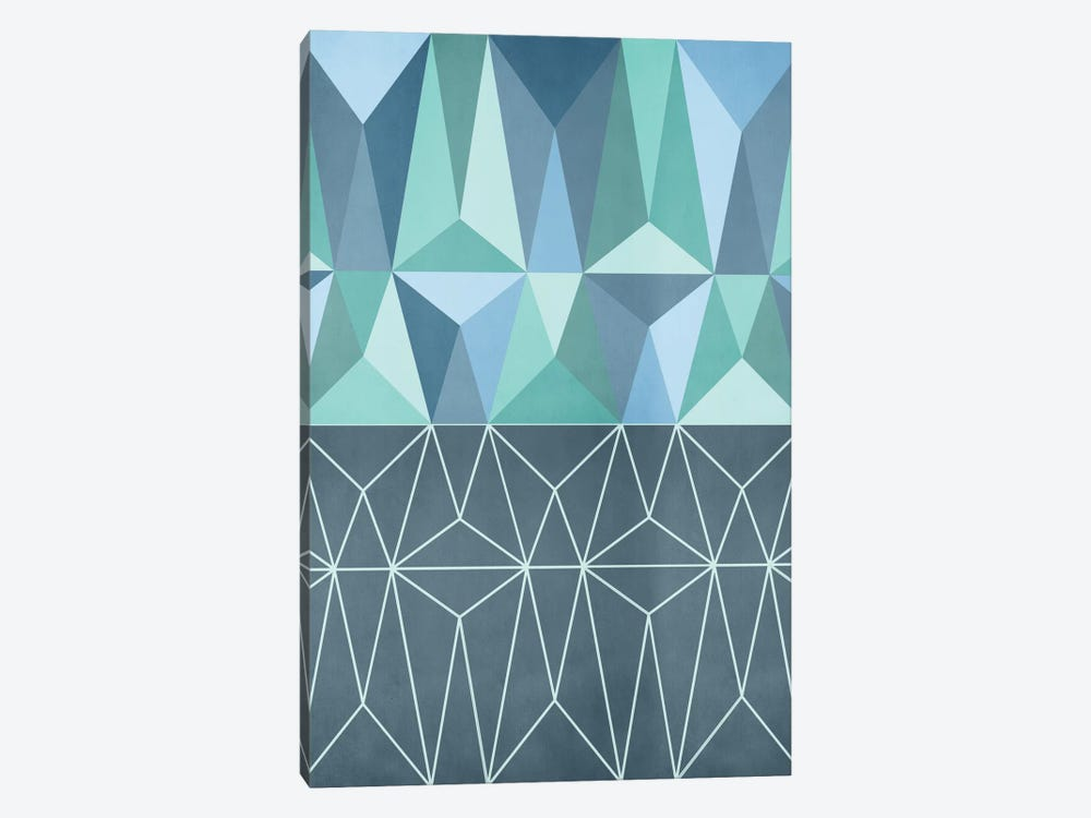 Nordic Combination XXXII by Mareike Böhmer 1-piece Canvas Art