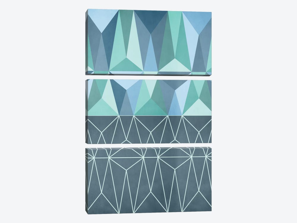 Nordic Combination XXXII by Mareike Böhmer 3-piece Canvas Wall Art