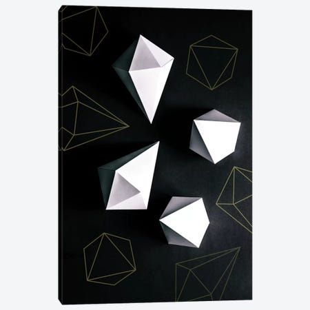 Origami II Canvas Print #BOH81} by Mareike Böhmer Canvas Art Print