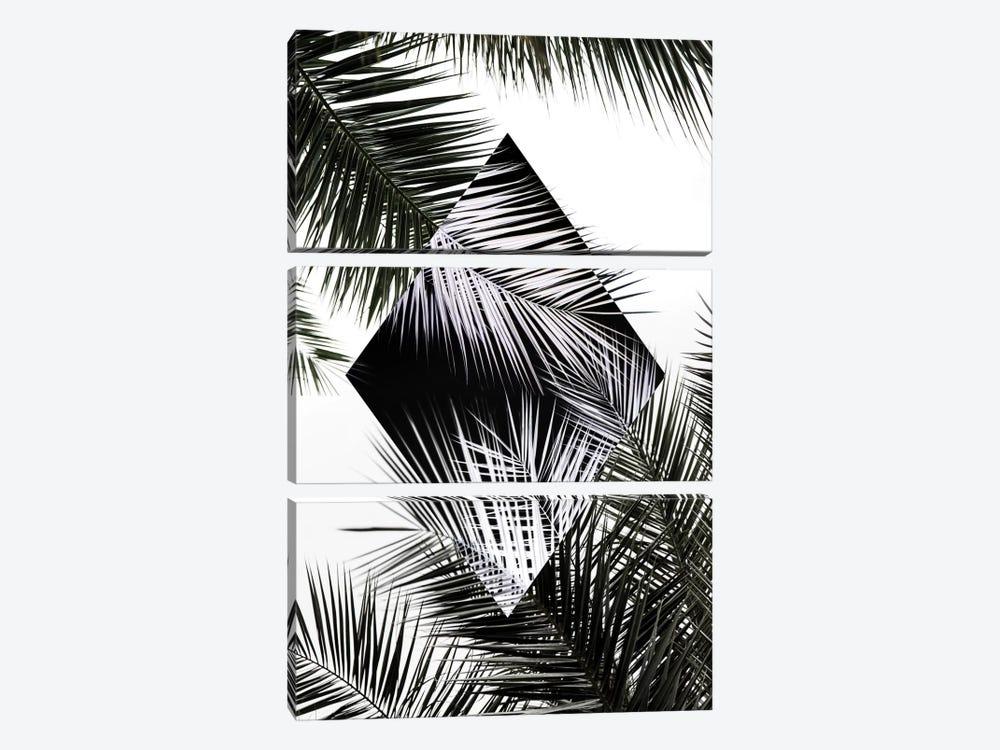 Palm Leaves II by Mareike Böhmer 3-piece Art Print