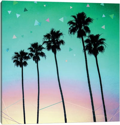 Palm Trees IV Canvas Art Print