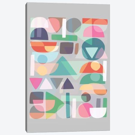 Pastel Geometry II Canvas Print #BOH86} by Mareike Böhmer Canvas Wall Art