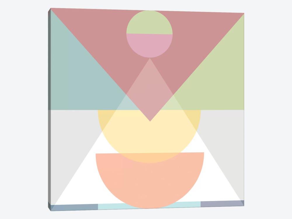 Pastel Play III by Mareike Böhmer 1-piece Canvas Art Print