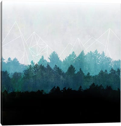 Woods Abstract I Canvas Print #BOH91