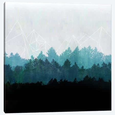 Woods Abstract I Canvas Print #BOH91} by Mareike Böhmer Canvas Artwork