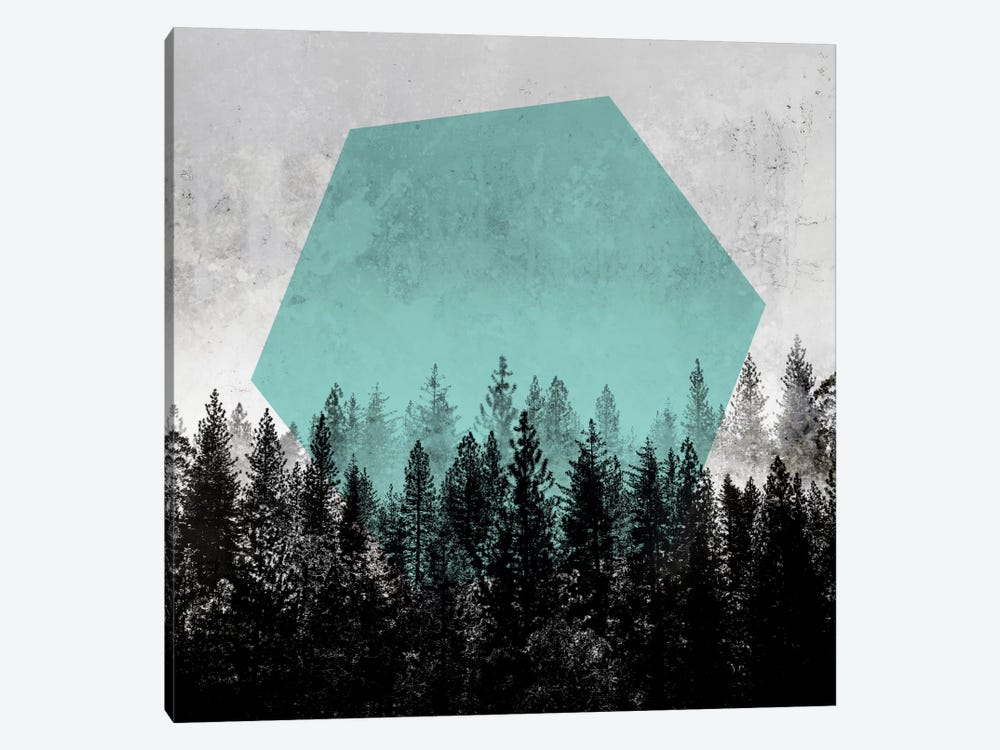 Woods III by Mareike Böhmer 1-piece Art Print