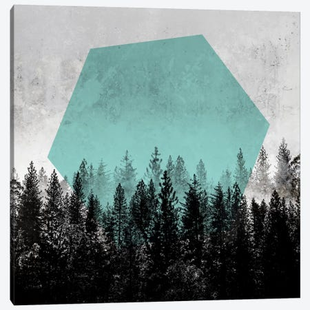 Woods III Canvas Print #BOH94} by Mareike Böhmer Canvas Art Print