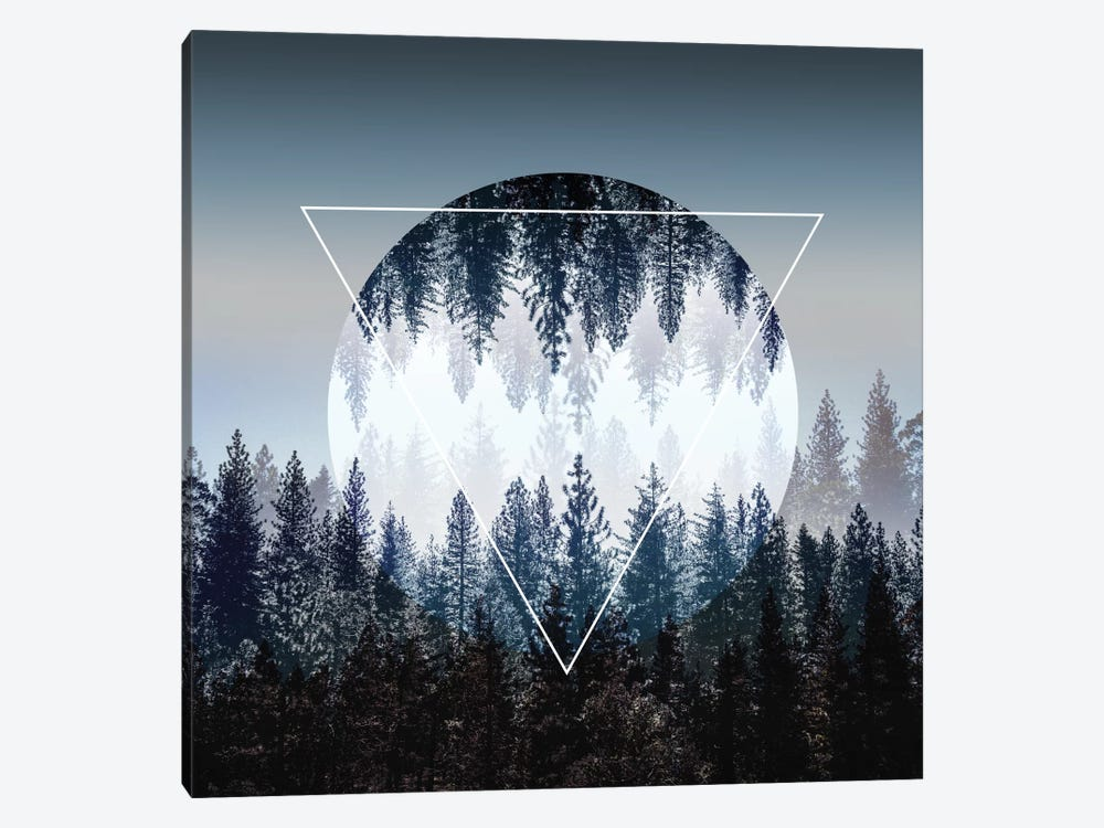 Woods IV by Mareike Böhmer 1-piece Canvas Art