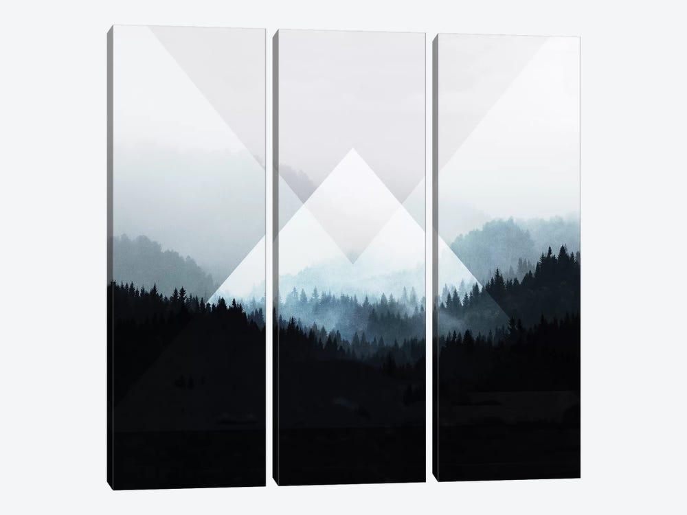 Woods V.Z by Mareike Böhmer 3-piece Canvas Print