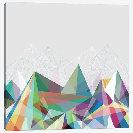 Colorflash VII Canvas Print #BOH9} by Mareike Böhmer Art Print